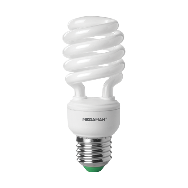 Megaman Cfl Sprials Compact Fluorescent Lamps Energy Saving Twisters Low Energy Light Bulb