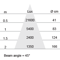 Lux-cone Diagram
